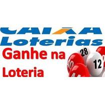 Como Ganha Na Loteria + Lotofacil,mega Sena E Outras.