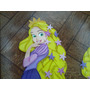 Rapunzel Y Sus Amigos Enredados Figuras De Foami De 40cm