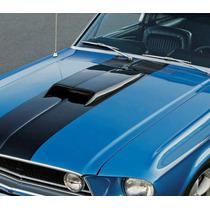 Toma De Aire Del Cofre Para Mustang 69-70 En Fibra De Vidrio