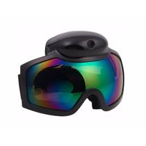 Lentes Deportivos Ski Goggle Cámara 720p