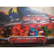 Juguete Set De Figuras De Entrenar A Mi Dragon