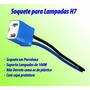 Soquete Farol Lâmpada H7 C/fio 1,5mm - Super Branca E Xenon