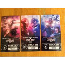 Boletos Cine Imax Semana 1, 2 Y 3 Exclusivo Civil War