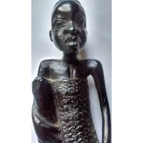 Talla Ebano Sudafrica Negra Y Ocre Dec 80