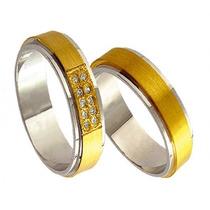 Aliança De Ouro Casamento Noivado Monte Claros Oliver Joias