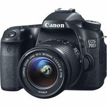Canon Eos 70d W 18 55mm 16gb Cl10 Full Hd Wifi Factura Gtia