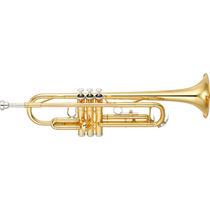 Trompete Yamaha Ytr-3335 Bb | Laqueado Ouro | Nfe | Garantia