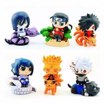 Set Figuras Pvc Shibi Hashirama-naruto-sasuke-madara Y Mas.