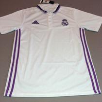 Oferta Camiseta Tipo Polo Real Madrid 2016-2017 Envío Gratis