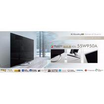 Pantalla Led Sony Smart Tv 3d 55 Modelo 55w950a