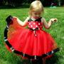 Vestido Minnie Mouse Disfraz Hallowen