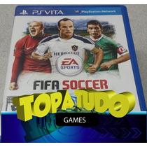 Fifa Soccer Ps Vita Com Garantia Em Bh No Maleta
