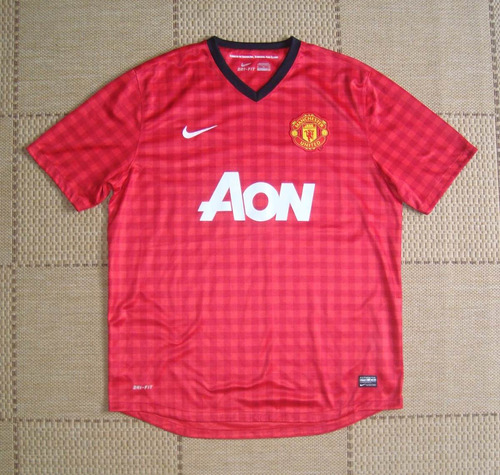 Camisa Original Manchester United 2012 2013 Home Nike - R  200 b6d3dbfbfad44