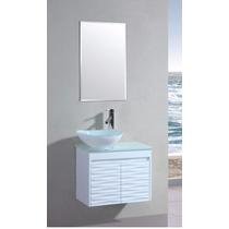 Odbo Ml-1016 Mueble Para Baño Con Llave Y Espejo
