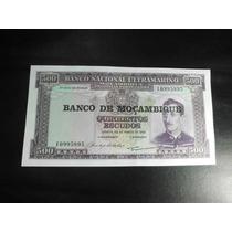 Mozambique Billete 500 Escudos Fecha 1967
