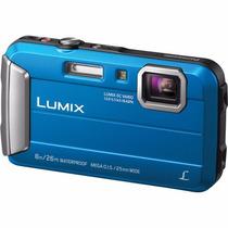 Câmera Digital Lumix Ts 30 A Prova Dagua