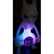 El333 Mewtwo Legendario Pokemon Articulad Figura Bootleg Luz