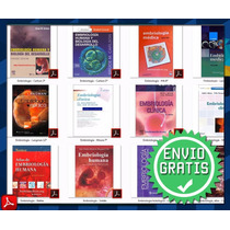 Pack 12 Libros Pdf Embriología Humana,langman Netter Moore