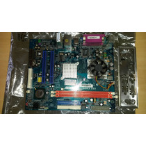 Placa Mae Phitronics 775 Pcm7e V1.0c + Processador C/defeito