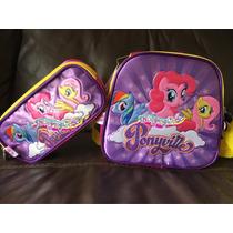 My Little Pony Lonchera Y Lapicera Original (no Mochila)