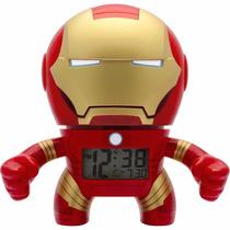 Bulb Botz Marvel Ironman Despertador Clock 19cm Lu Diego Vez