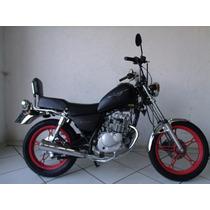 Suzuki Intruder 125 2007 Preta
