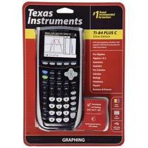 Calculadora Grafica Texas Ti 84 Plus C Silver Edition