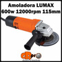Amoladora Lumax Zgs-605 600w 12000rpm 115mm Con Garantía