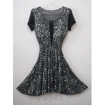 Vestido Patice M. Josely - Tigrado - Animal Print
