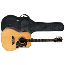 Violão Michael Galaxy Vm925dt Natural Satin Folk Com Equaliz