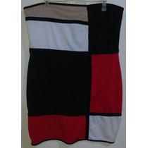 Vestido Straple Dama Talla Extra 2x (18w-20w)) Retro Colores
