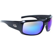 Óculos Hb Rocker Gloss Black Multi Blue Lenses