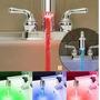 Difusor De Canilla Led Rgb P/baño Y Coc C/sensor Temperatura