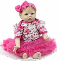 Bebe Reborn Boneca Silicone Menina Importada Por Encomenda