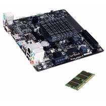 Kit Placa Mae Pcware Ipx1800g2 Mini Itx/dualcore 2.41ghz+2gb