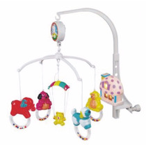 Movil Musical Con Luz Cuna Practicuna - Infantoys (5405)