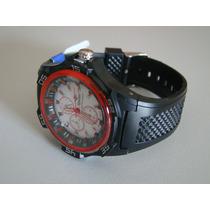 Relógio Spaltec Esportivo Masculino- Prova D Agua