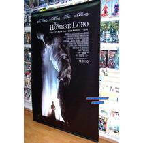 Lona Original De Cine El Hombre Lobo The Wolfman