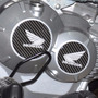 Kit Adesivo Relevo Tuning Motor Carbono Moto Honda Titan 160
