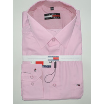 Kit C/ 3 Camisas Slim Social Lacoste Thomy Atacado