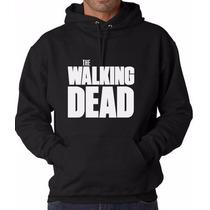 Sudadera Negra Hombre The Walking Dead ¡envío Gratis Dhl!
