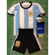 Conjunto De Futbol Niño, Afa-argentina Nuevo!