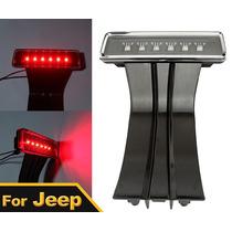 Luz Hiper Led Stop Superior Jeep Wrangler Jk Rubicon Sahara