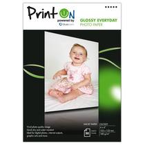 Printon Photo Paper Glossy ( 4 X 6 ), 20 Hojas, 180gsm