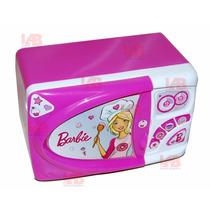 Microondas Barbie Juguete Original Tv Lelab