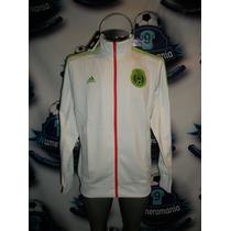 Chamarra Oficial Adidas Selección Mexicana Blanca2016 Mexico