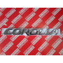 Emblema De Maletera Toyota Corolla Original ( 75442-02070 )