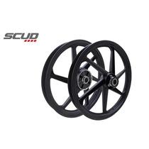Roda Aluminio - Disco Ybr 125 Ed - Preto Cst 11336