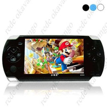 Video Game Portátil Mp3 Mp4 Mp5 Tipo Psp Com Varios Jogos Ja