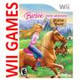 Juego Barbie Horse Adventures Riding Camp - Original Wii